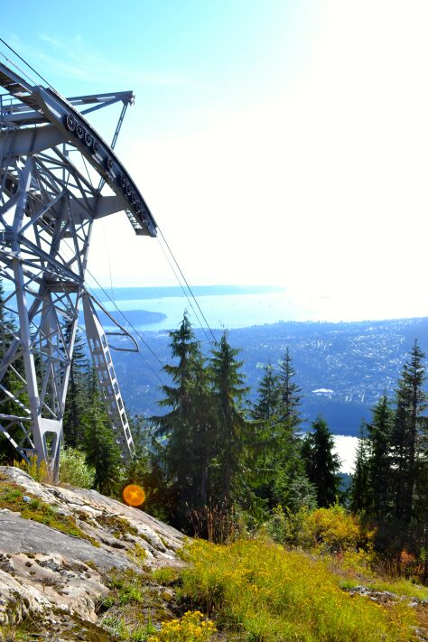 Grouse Mountain in British Columbia