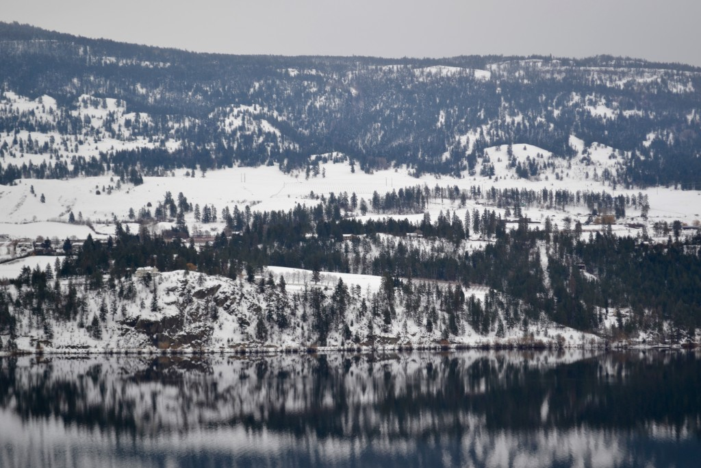 Just outside of Kelowna, Lake Okanagan (not to be confused with the town of Okanogan)
